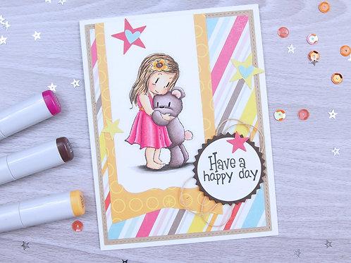 A Friendship Hug Card Kit