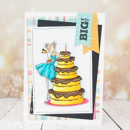 Bianca Loves Her Big Cake Card Kit