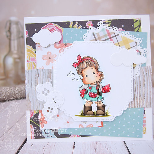 Tilda Working in the Garden Card Kit