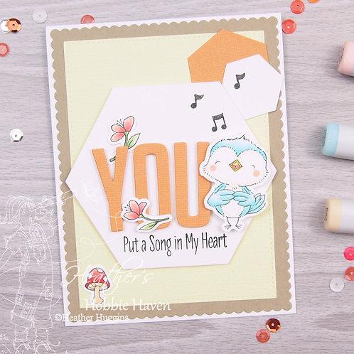 Tweet Friends Card Kit