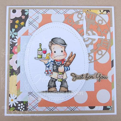 Frenchy Edwin Card Kit
