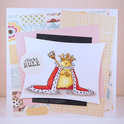 Chicks Rule Card Kit