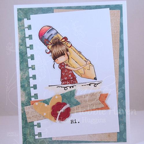 Penelope Has a Pencil Card Kit