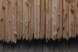 o nó da madeira