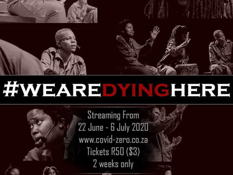 #WeAreDyingHere is Online