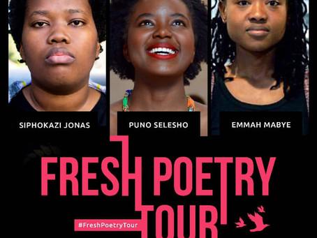 Fresh Poetry Tour 2019