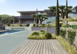 Villa contemporaine Saint-Tropez