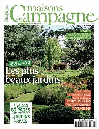 Magazine Maisons de Campagne couv