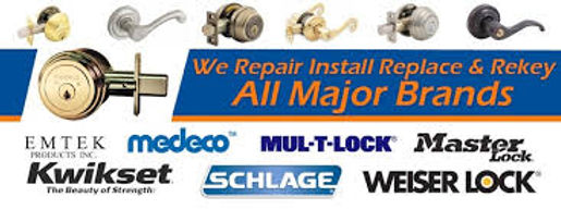 Rekey Service and repair service for all major brands of locks.