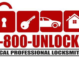 1-800-Unlocks Real Local Locksmith