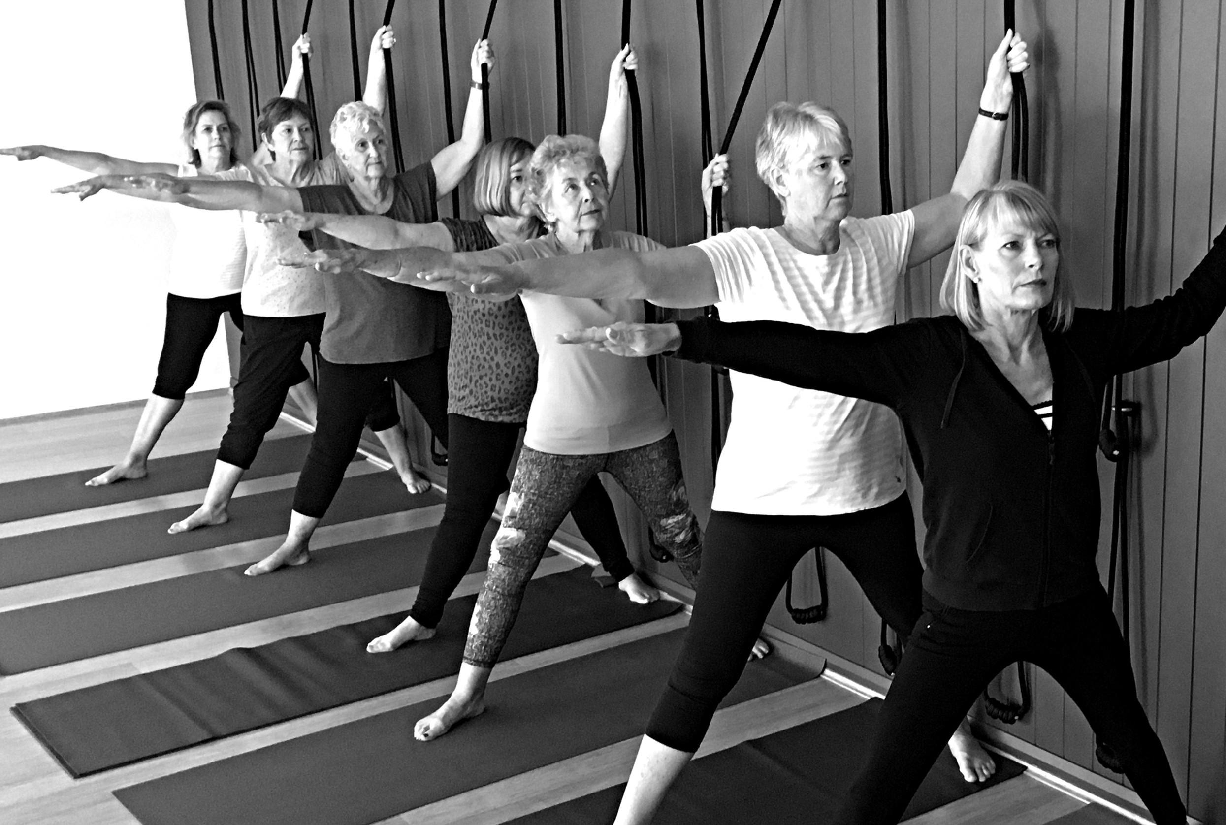 In-person Seniors yoga