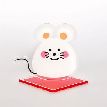 No.1 正月飾り 干支の置物 ネズミ
