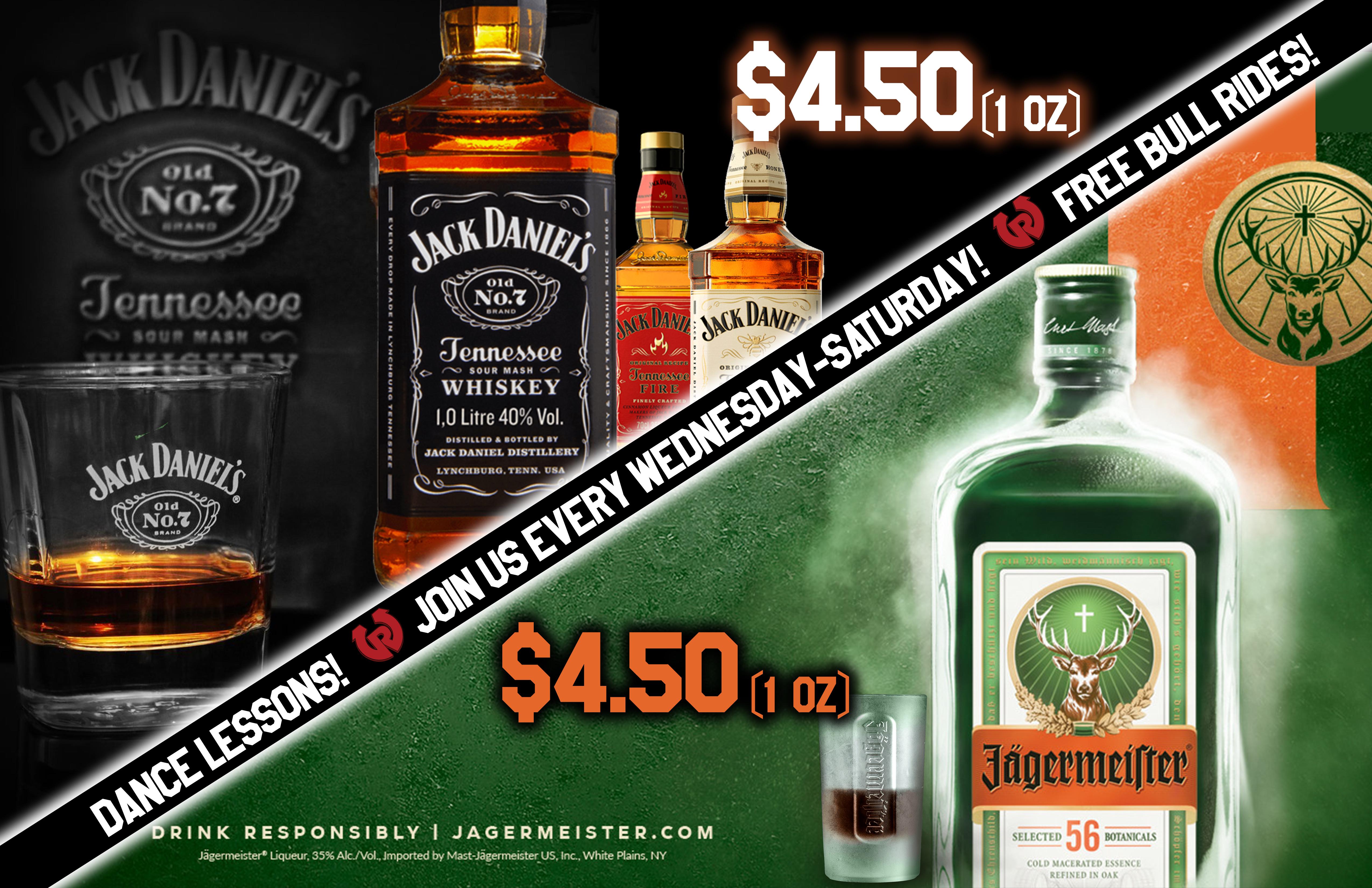 Jager-Jack specials