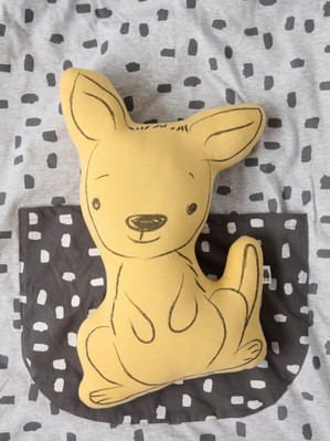 """Kenguru"" Decorative Cushion"