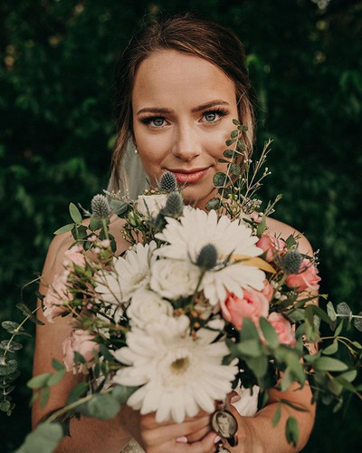 Nothing like a gorgeous bride to start y