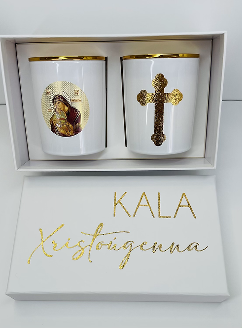 KALA XRISTOUGENNA -  GREEK GIFT BOX