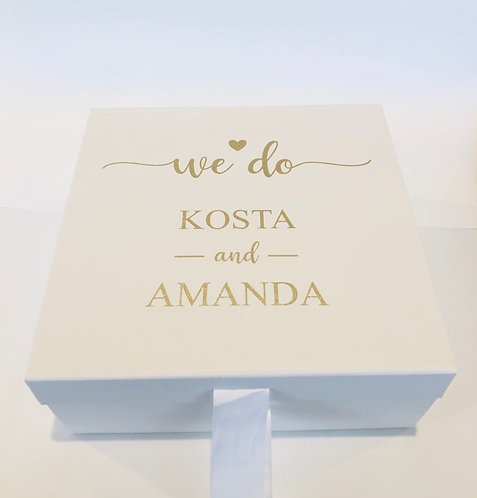 PERSONALISED GIFT BOX (EMPTY)