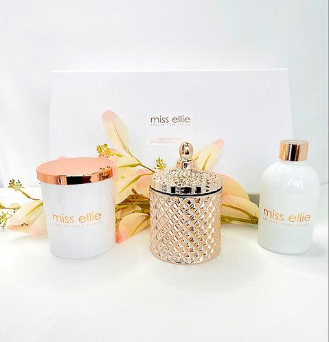LUXURY TRIO GIFT BOX - ROSE GOLD