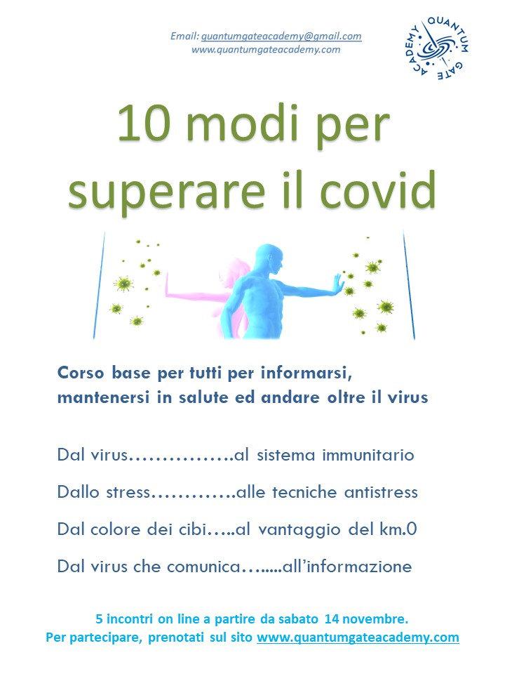 10 Modi per superare il Covid