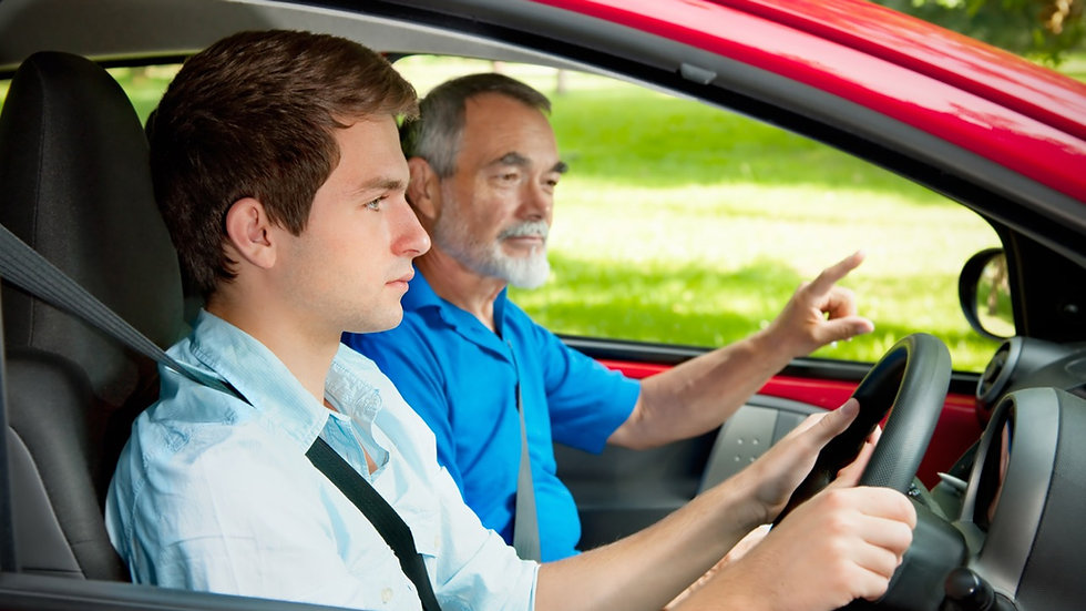 Driving tuition 120 minutes