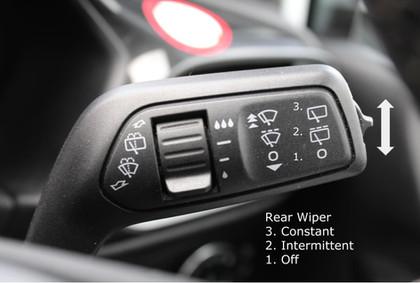 REAR WIPER CONTROLS