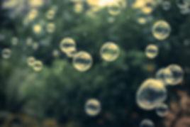 Relaxing bubbles.