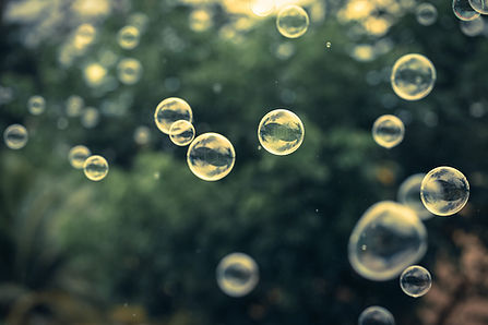 Relaxing bubbles.