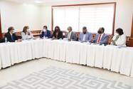 Congresista reciben representante de Universidades Gremios y Periódicos Digitales