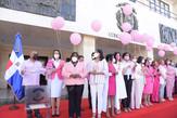 CD lanza globos rosados para cerrar jornada de prevención sobre Cáncer de Mama