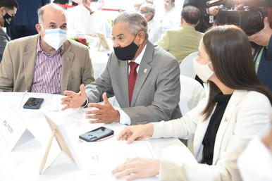 Comisión de Agricultura participa en asamblea agropecuaria