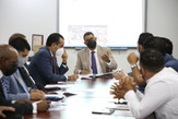 Comisión Permanente de Cultura de la CD recibe a la Asociación de Caballo de Pasos Higüeyano