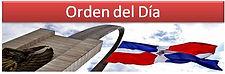 Orden del dia Camara de Diputado Republica Dominicana