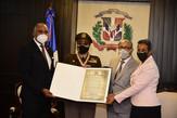 Cámara de Diputados entrega reconocimiento a la dominicana Marisol A. Chalas, teniente coronel del E