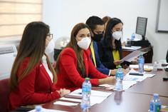Diputados  reciben visita directiva de Jóvenes Empresarios