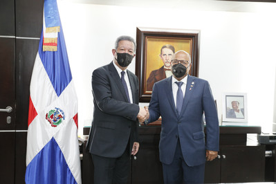 Cámara de Diputados recibe visita del expresidente Leonel Fernández