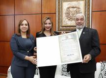 Cámara de Diputados reconoce arqueóloga Kathleen Martínez