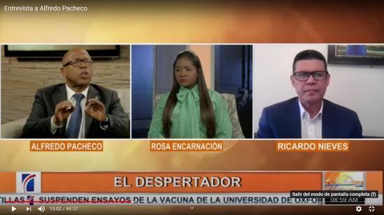 Alfredo Pacheco dice Cámara de Diputados tiene más de 7 mil proyectos pendientes por conocer