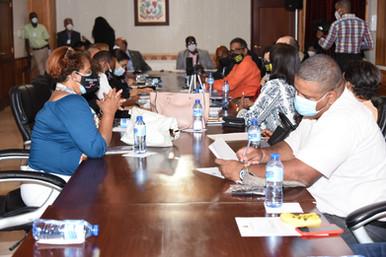 Comisión bicameral avanza estudio reforma Ley 87-01; escucha la Coalición por la Seguridad Social