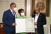 Cámara de Diputados reconoce labor y trayectoria de la periodista Carmenchu Brusiloff Ugarte