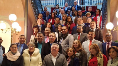 Alcaldes y concejales de la República Dominicana visitan la Diputación de Albacete