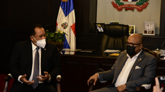 Alfredo Pacheco y Jaime Marte Martínez acuerdan trabajar para modificar la Ley 50-88