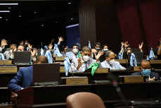 Diputados continúan lectura de artículos del Código Penal