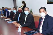 Diputados reciben representantes de diferentes medios de comunicación