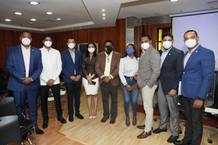 Comisión de Juventud Cámara de Diputados recibe la Coalición ONGSIDA República Dominicana