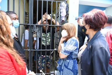 Subcomición Derechos Humanos verifica anomalías en cárcel de Higuey
