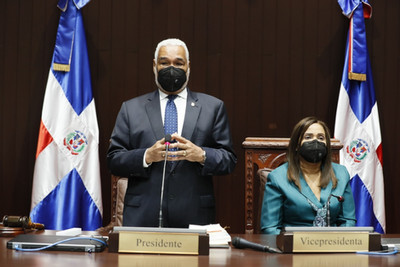 """Radhamés Camacho: """"En nuestra gestión al frente de la Cámara de Diputados se aprobaron 1,141 iniciat"""