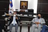 Alfredo Pacheco recibe explicaciones Ministro de Salud, sobre adquisición vacunas contra Covid-19