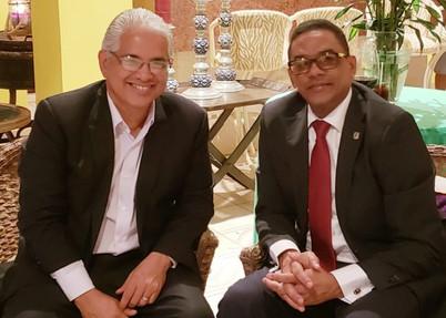 RAMÓN CABRERA COMPARTE CON ALCALDE DE LA CIUDAD DE PANAMÁ