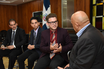 Parlamentario cubano visita Cámara de Diputados RD