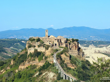BORGHI D'ITALIA: CIVITA DI BAGNOREGIO